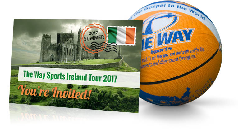 You're Invited to The Way Sports Ireland Mission Trip